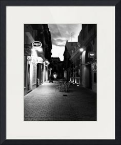 """Old town dusk"" by Maria Zambruno, Spain //  // Imagekind.com -- Buy stunning fine art prints, framed prints and canvas prints directly from independent working artists and photographers."