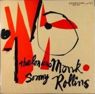 Thelonious Monk & Sonny Rollins. Prestige. #jazz