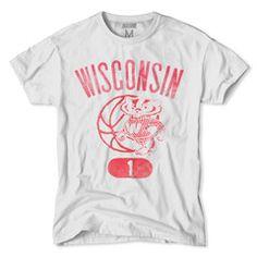 Wisconsin Badgers Hoops T-Shirt