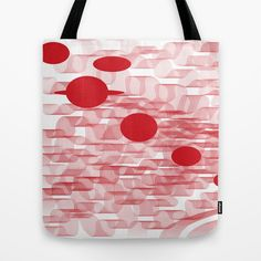 red planets Tote Bag by Loosso - $22.00