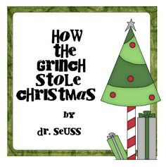 Pitner's Potpourri: How the Grinch Stole Christmas Freebie 2