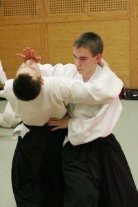 Aikido Training Budokan Wels Jänner 2013: Tachi Waza Kokyo Nage