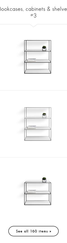 """""""Bookcases, cabinets & shelves #3"""" by sally-simpson ❤ liked on Polyvore featuring home, furniture, storage & shelves, bookcases, painted bookshelves, gray bookcase, grey furniture, grey painted furniture, 2 tier bookcase and antiqued furniture"""
