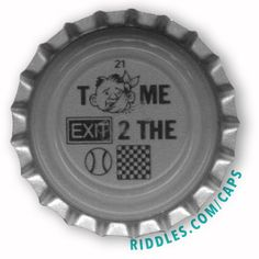 Lucky Cap #21 series 1 - Riddles.com/caps
