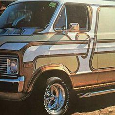 Customised Vans, Custom Vans, Dodge Ram Van, Gmc Vans, Old School Vans, Vanz, Day Van, Panel Truck, Cool Vans