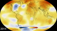 The year 2014 ranks as Earth's warmest since 1880, according to two separate analyses by NASA and National Oceanic and Atmospheric Administration (NOAA) scientists.