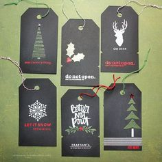Kerri Bradford Studio | Christmas In July Tags 2016