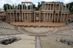 merida theater, spain. Sponsored by Marcus Agrippa.