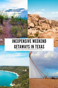 Inexpensive Weekend Getaways in Texas Texas Vacations, Texas Roadtrip, Vacation Resorts, Texas Travel, Travel Usa, Texas Vacation Spots, Texas Tourism, Hiking Texas, Vacation Mood