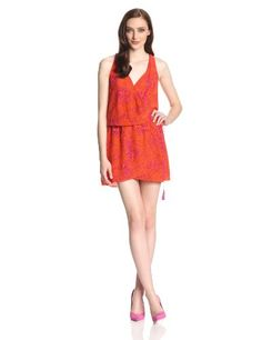 Dolce Vita Women's Nanaya Block Print Racerback Dress