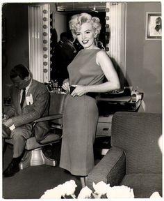 Marilyn Monroe photographed by John Florea, 1954.