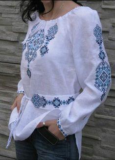 Embroidered Clothes, Embroidered Blouse, Folklore Mode, Ethnic Fashion, Womens Fashion, Estilo Boho, Kurta Designs, Mode Hijab, Ukraine