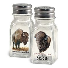 American Expedition Salt Bison and Pepper Shakers