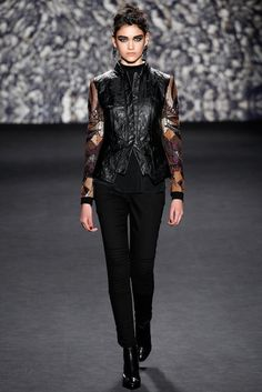 Nicole Miller Fall 2014 Ready-to-Wear Fashion Show