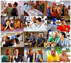 Scrubs. Turk and JD. It's Guy Love!