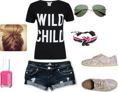 """Wild Child"" by kinziesmom2010 on Polyvore"