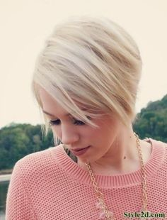 hair style for thin hair pixie cut and color hair bobs hair 7567