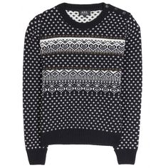APC placed fairisle mytheresa.com - Wool sweater - knitwear - clothing - Luxury Fashion for Women / Designer clothing, shoes, bags