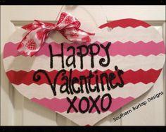 Happy Valentine's XOXO Door Hanger