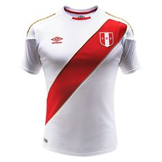 Peru 2018 World Cup Home Men Soccer Jersey Personalized Name and Number Item Specifics Brand: Umbro Gender: Men's Adult Model Year: 2018 Material: Polyester Type of Brand Logo: Embroidered Type of Team Badge: Embroidered Peru Football, Football 101, Football Jerseys, World Soccer Shop, World Cup Jerseys, France World Cup Jersey, Premier League, Soccer Gear, Soccer Cleats