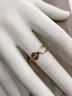 Bague ''infini'' 3 tons Napkin Rings, Wedding Rings, Engagement Rings, Boutique, Jewelry, Fishing Line, Enagement Rings, Jewels, Schmuck