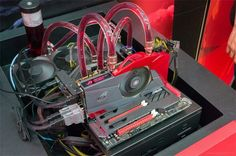 Liquid Cooled Processor & Motherboard