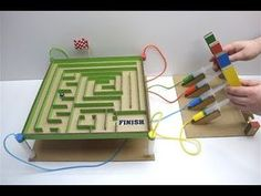 How to Make Hydraulic labyrinth with ball from Cardboard and syringes - Welcome to ideas de juegos para niños ! Physics Projects, School Science Projects, Stem Projects, Arduino Projects, Science Experiments Kids, Science For Kids, Woodworking Projects, Activities For Kids, Engineering Projects