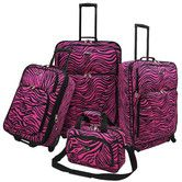 Found it at Wayfair - Fashion 4 Piece Spinner Luggage Set