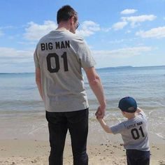 Family Look matching outfits father and son big litter man Dad baby summer fathers day clothing T-shirt for daddy and me clothes Kids Outfits, Summer Outfits, Family Set, Matches Fashion, Baby Daddy, Baby Boy, Matching Outfits, Matching Clothes, Matching Shirts