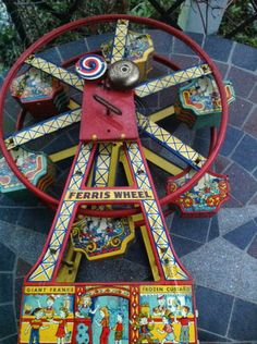 Chein Ferris Wheel- Vintage Toy