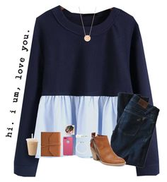 """""""Ootd:church"""" by jiejiebear ❤ liked on Polyvore featuring WithChic, DL1961 Premium Denim, DV, BaubleBar, BERRICLE, LifeProof, Eccolo and Tiffany & Co."""