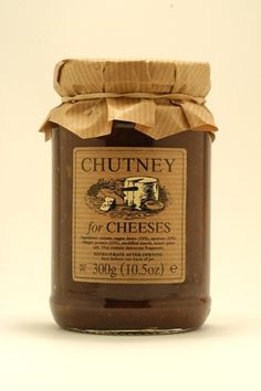 Chutney for Cheeses, Edinburgh Preserves- full flavoured, rich and fruity condiment perfect for all cheese varieties