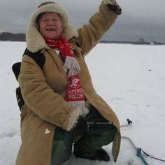 На лед в 76 лет...