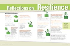 Reflections on Resilience - by Sara Truebridge and Barney Bernard - Article, infograph and 1 hour presentation from the 2013 Whole Child Virtual Conference. School Leadership, Leadership Tips, Educational Leadership, Leadership Development, Emotional Resilience, Emotional Intelligence, Brain Based Learning, Study Skills, Character Education