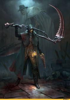 BloodBorne, Dark Souls, fandom, BB art, Game art, game art, Games