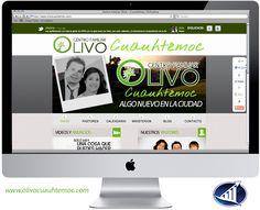 Página web para la iglesia Centro Familiar Olivo - Cuauhtemoc.  www.olivocuauhtemoc.com