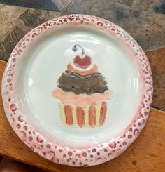 Happy celebration ceramic plate!!!!