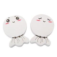 Custom Color will be random Sunny Dolls Design Paper Scratch Pad Sticky:Asujewelry.com