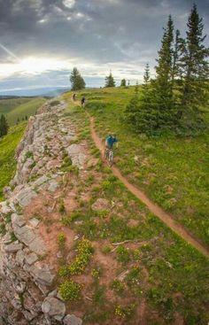 Mountain Biking Colorado MTB XC Bike Singletrack
