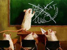 Lucia Heffernan | OIL | Rats School