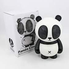 Panda Classic Designer Vinyl Toy Figure by Cacooca Toy Art, Vinyl Toys, Vinyl Art, 3d Character, Character Design, Character Concept, Vinyl Figures, Action Figures, Japanese Toys