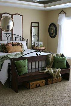 Earth Tone Color Palette Bedroom Ideas 20