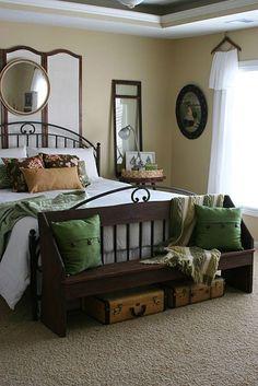 Earth Tone Color Palette Bedroom Ideas 20