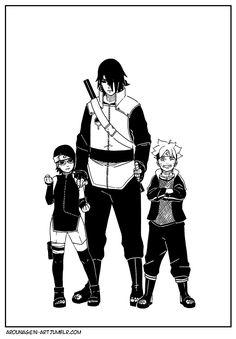 Sasuke and the next generation