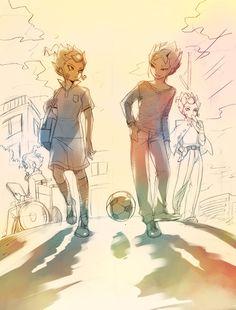 Image de anime, tsurugi yuuichi, and inazuma eleven