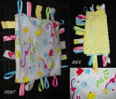 Under the Sea Tag Blanket by StellaHudson33 on Etsy, $10.00