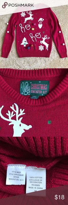 I just added this listing on Poshmark: UGLY Christmas Sweater. #shopmycloset #poshmark #fashion #shopping #style #forsale #Sweaters