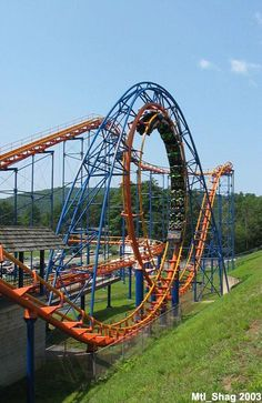 Steamin' Demon, Six Flags Great Escape, NY