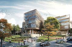 University of Sydney Business School designed by Woods Bagot Architects, built by John Holland