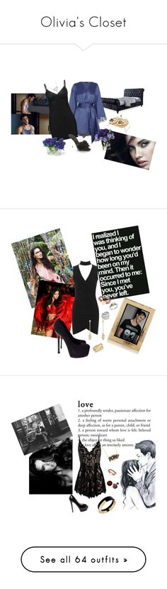 """""""Olivia's Closet"""" by bboles3984 ❤ liked on Polyvore featuring Calvin Klein, Ellie Shoes, John-Richard, Picnic Time, Agent Provocateur, AdrianaLima, Victoria's Secret, Love Quotes Scarves, WearAll and Yves Saint Laurent"""